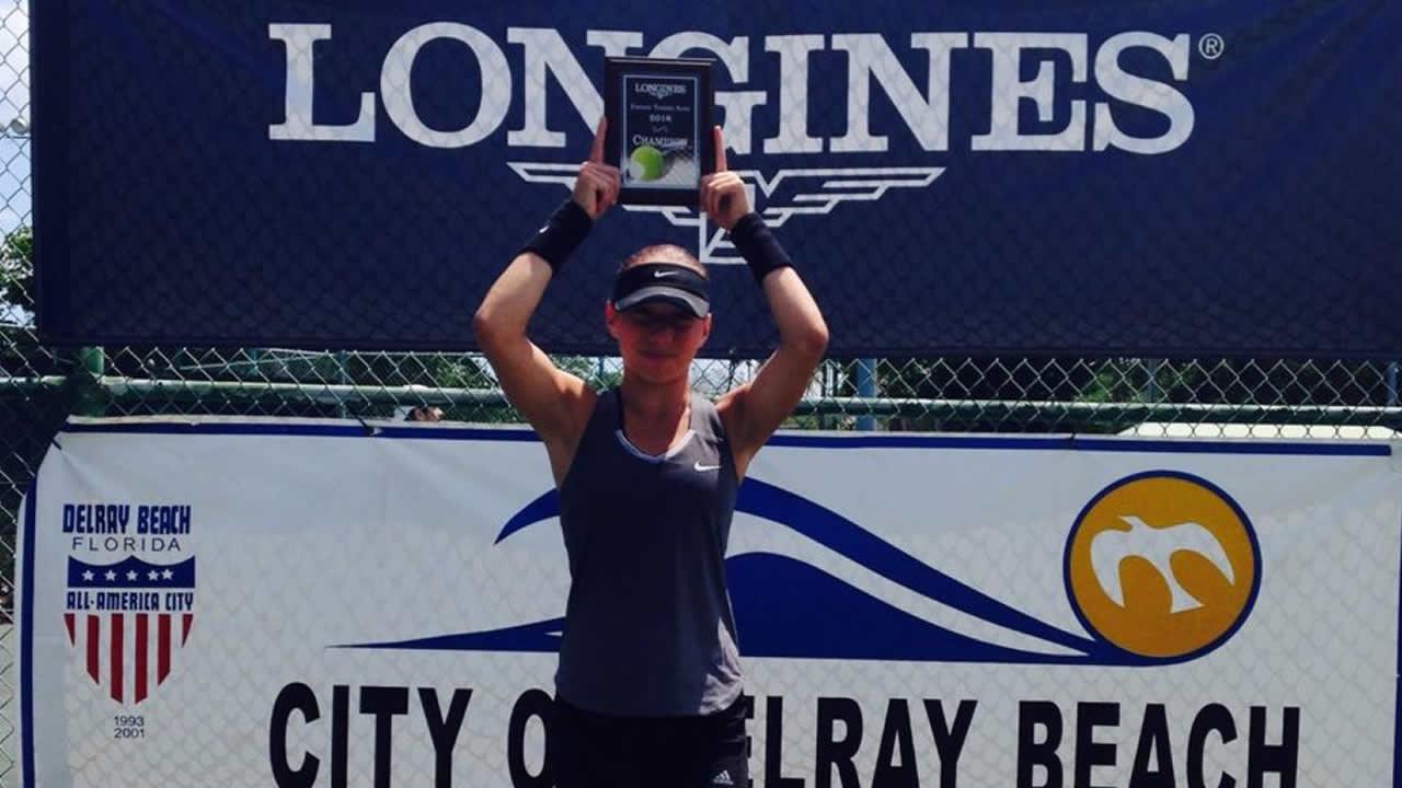 Nikki Yanez Longines Future Tennis Aces Tournament