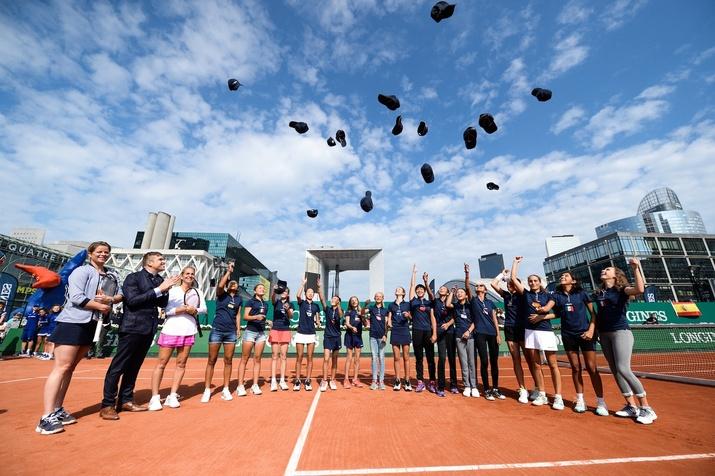 Nikki Yanez Longines Promotes Next Generation of Tennis Champions