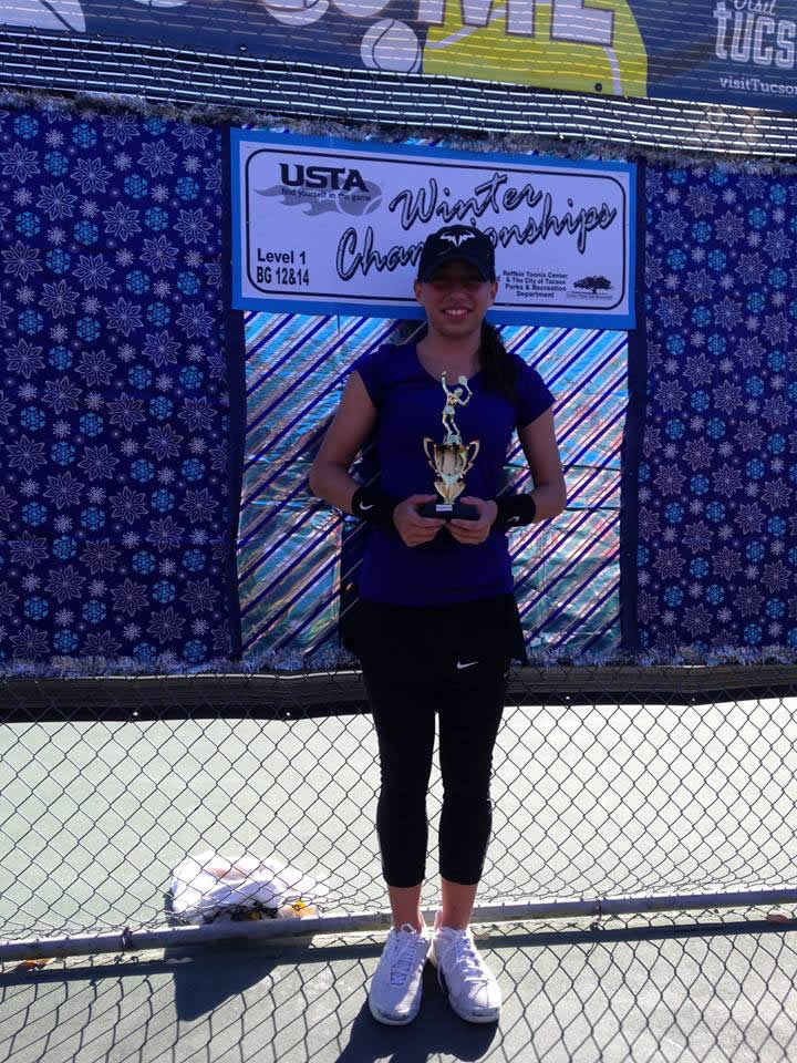 Nikki Yanez USTA National Winter Championships 2015