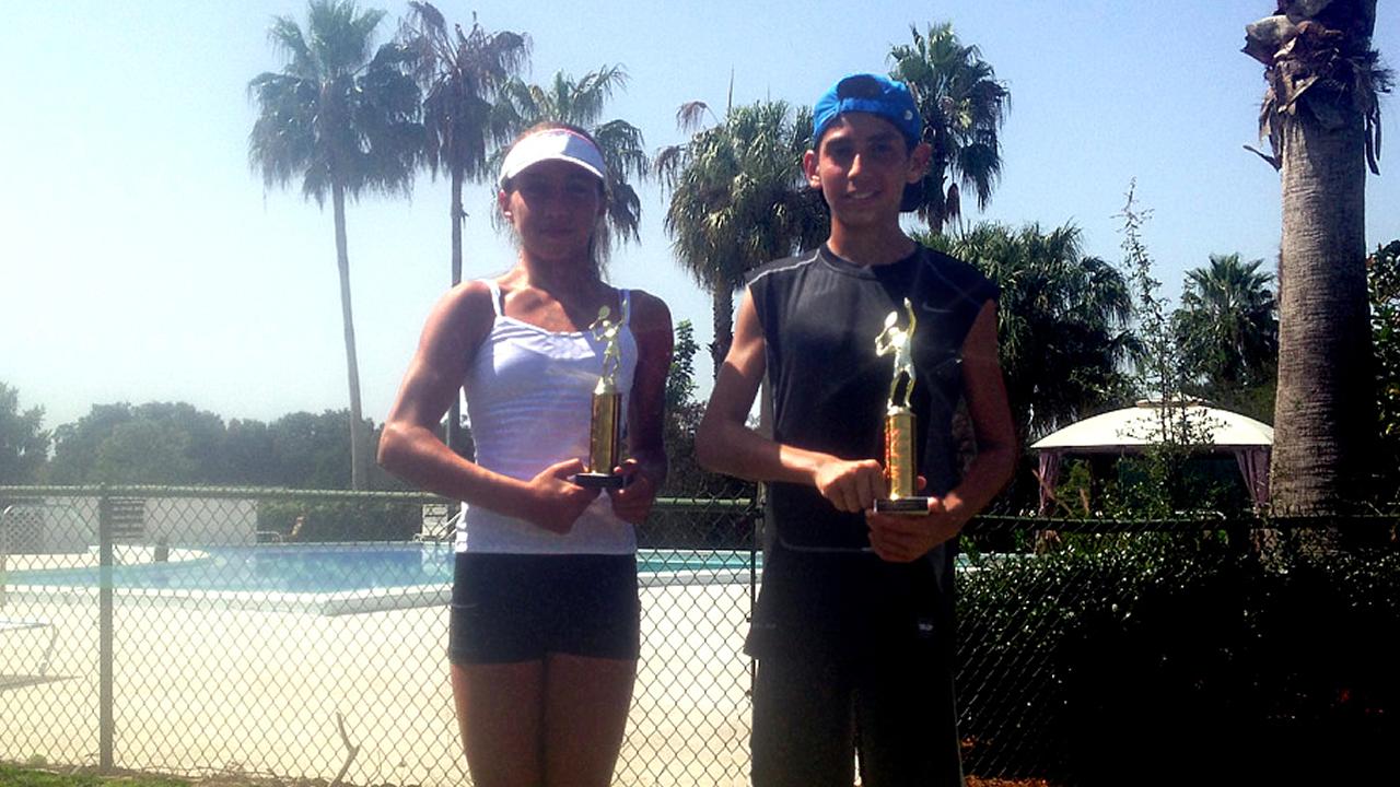 Nikki Yanez My First Girls 16's Win Buckhorn Springs 2014